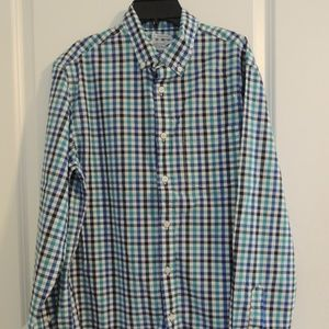 Men's Old Navy M Button Down Shirt Checked